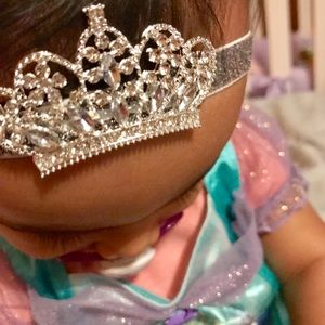 Other - Silver baby tiara headband 👑